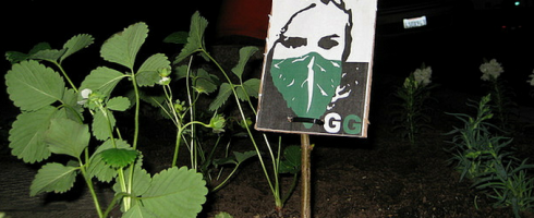 Guerilla Gardening logo