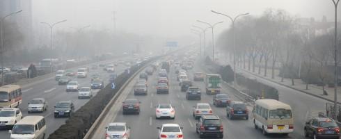 Beijing China smog