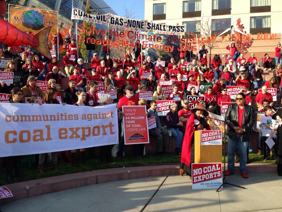Over 200,000 public comments were submitted to raise concerns about coal export through the Pacific Northwest and people across the state rallied at public hearings