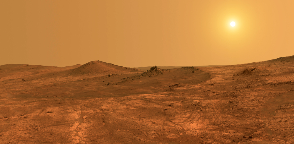 Water on Mars Later Than Expected?