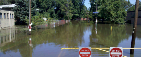 Flood threat levels around the United States are changing, according to a new study from the University of Iowa.