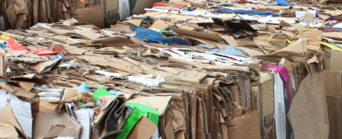While online shopping is a great convenience, it creates a massive amount of cardboard packaging that goes into our waste stream.